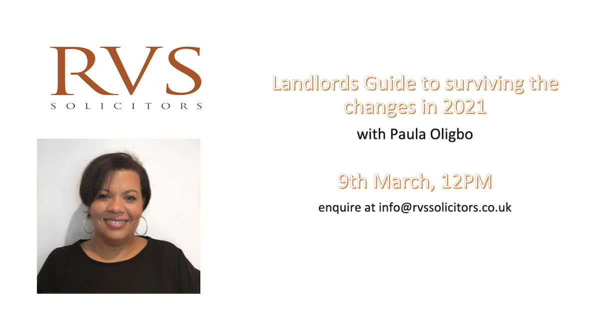Landlords Guide to surviving the changes in 2021